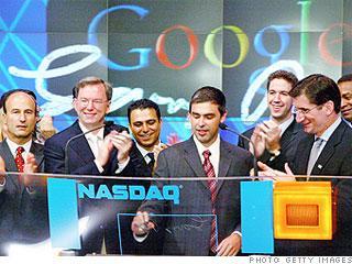 2004年:谷歌上市